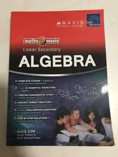 Lower Secondary ALGEBRA by Mavis (Sec 1 & 2)