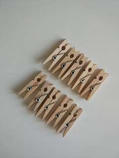 Penjepit kayu kecil