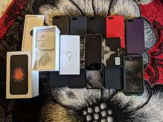 Iphone SE 64GB Space Gray Switch Replacement Set