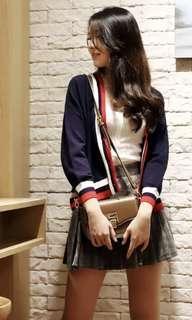 Varsity colours cardigan