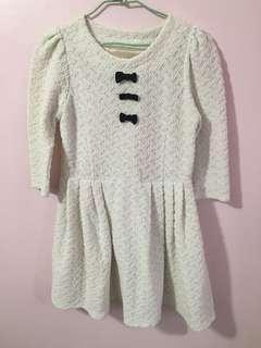 🚚 ROJITA~七分袖亮粉短洋裝