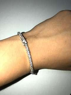 ✅ Icy tennis bracelet tennis chain bracelet 2.5mm
