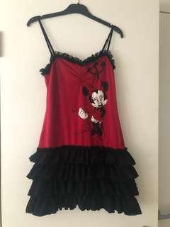 Women's Minnie Mouse sleepwear dress   Size M