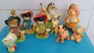 Vintage Porcelain Ornaments