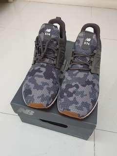 New Balance fresh foam 574 grey camo