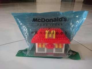 McDonald's Food Icon X Nano Block