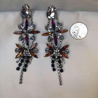 H&M Party Dangling Earrings