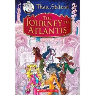 Thea Stilton The Journey to Atlantis
