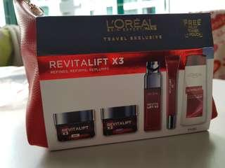 Loreal revitalift travel pack