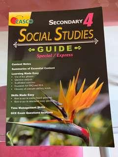 Social Studies  Guides Secondary 4 (Special / Express)