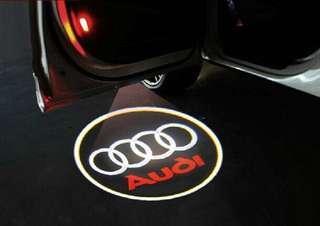 Audi door welcome lights