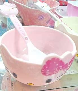 Hello Kitty Bowl & Spoon