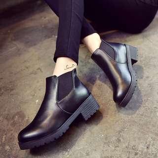 PO Black Chelsea Boots