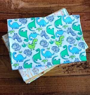 Baby Swaddled - cotton flannel