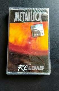Cassete Metalica Reload kaset
