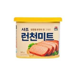 Sajo luncheon meat