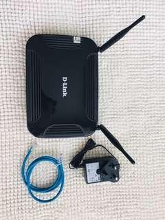 D-Link VoIP Router / Model: DVG-N5402SP
