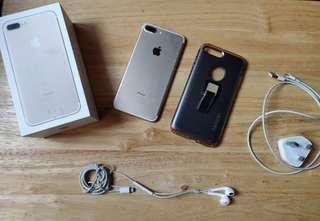 Iphone 7 plus 128gb Gold FU