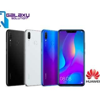 "Huawei Nova 3i - Original Malaysia Set - 4GB RAM 128GB ROM 6.3"" Full Display"