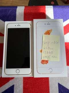 🚚 Kate's iPhone 6s Plus 128GB Gold New year discount 😀😀