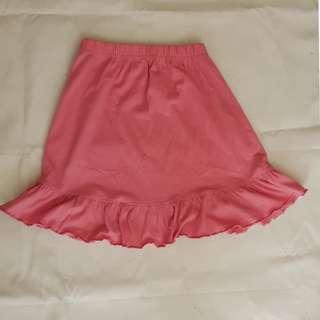 Pink Girls Skirt