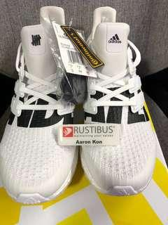 2378c3141 BNDS UNDEFEATED X ULTRA BOOST WHITE US12   UK11.5
