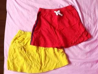 Colourful Skorts