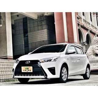 2017年 YARIS 全車系3500元交車,外縣市可配合當日過戶交車