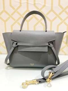 Celine Gray Belt Bag