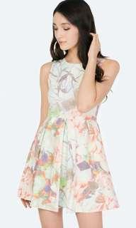 The Closet Lover Colleen Printed Dress in Size S