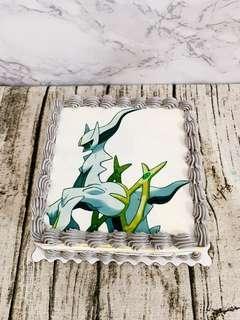 Customized Pokémon Edible Printing Cake