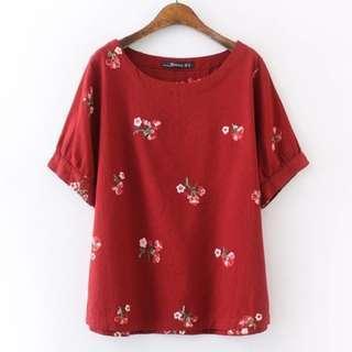[CNY 2019 Collection] Pre Order [XL - 4XL] Plus Size Blouse