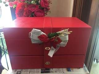 Christmas / CNY double tier hamper box