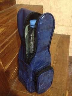 Tas botol bentuk tas gitar mini ( bisa buat botol 1ltr)