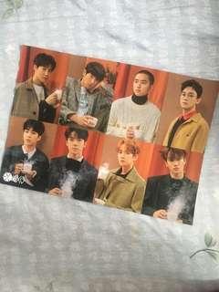 EXO Mini Poster 01