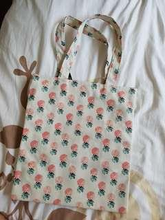 Pineapple Tote Bag(with zip)