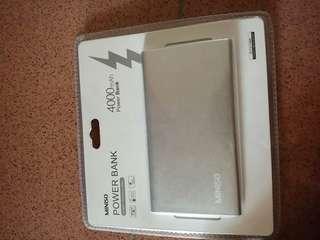 Miniso powerbank 4000mAh