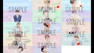 Seventeen banners/slogans