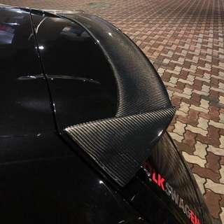 VW Scirocco Rear Spoiler Lip Wing