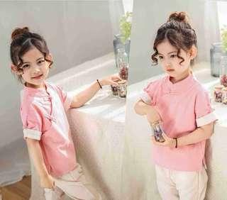 Children Chinese new year clothes CNY traditional costume