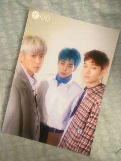 EXO (CBX) Mini Poster 07
