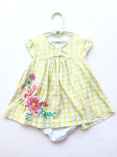 Mothercare Baby Girl Dress (Embroidery)