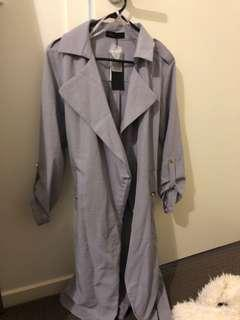 Light weight grey coat