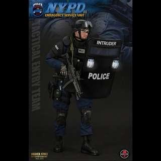 Ss100 1/6 NYPD ESU Tactical Entry Team