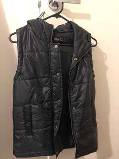 Puffer vest black