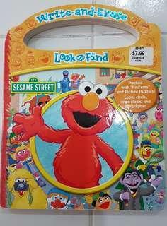 "Sesame Street ""Look & Find"" Book"