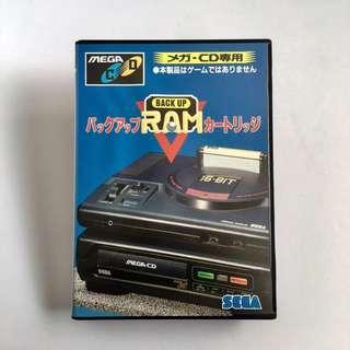 Sega Mega cd backup ram
