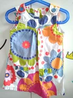 Carter's colorful dress 4yrs