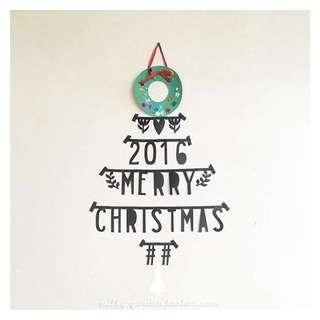 🚚 北歐風🆙字母DIY拼字裝飾條。牆飾掛條壁貼。聖誕裝飾生日派對跨年聚會。居家裝飾💖聖誕節