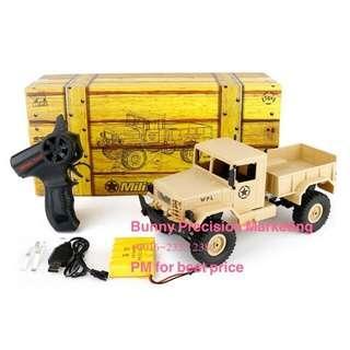RC 4wd U.S Military Truck (High Grade). WPL